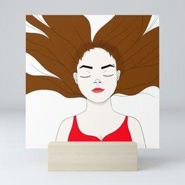 Let go Mini Art Print