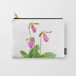 Lady's Slipper by Teresa Thompson Carry-All Pouch