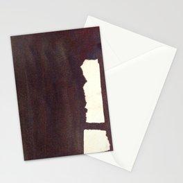 left hand side heavy, match stick Stationery Cards