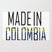 colombia Area & Throw Rugs featuring Made In Colombia by VirgoSpice