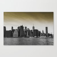 manhattan Canvas Prints featuring Manhattan by Forand Photography