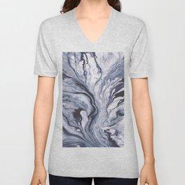Marble swirl Unisex V-Neck