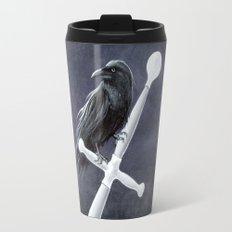 Un-Named Raven Travel Mug