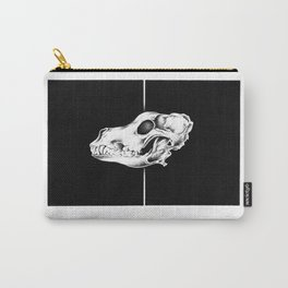 SKULL SERIES - THE WOLF Carry-All Pouch