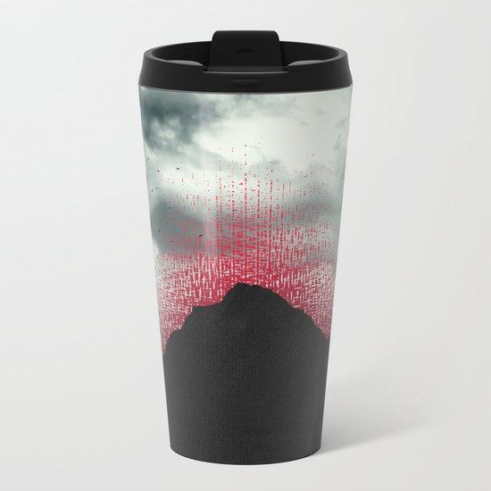 erosion Metal Travel Mug