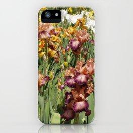 Iris Flowers iPhone Case