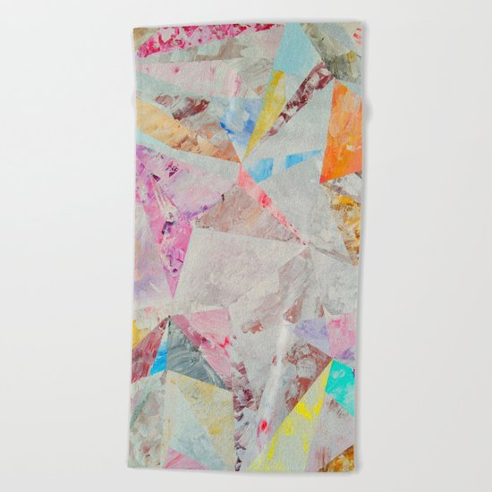 Abstract painting 25 Beach Towel