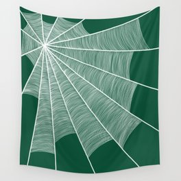 The spider's house #3 Wall Tapestry