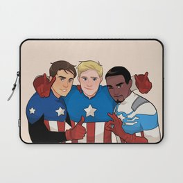 Cap Cubed Part Two Laptop Sleeve