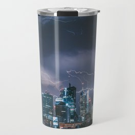 Storm over Warsaw Travel Mug