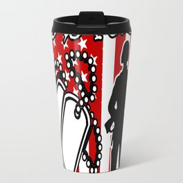 I DIDNT FIGHT BECAUSE I HATE I FOUGHT BECAUSE I LOVED WHAT I LEFT BEHIND Travel Mug