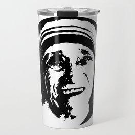 Mother Teresa Portrait Travel Mug