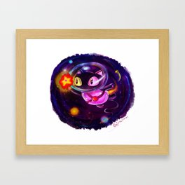 Cookie Cat! Framed Art Print