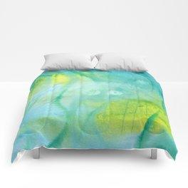 Mermaid´s Grotto Watercolor Comforters