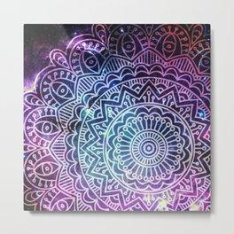 Space mandala 26 Metal Print