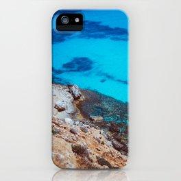 The blue lagoon iPhone Case