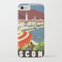 switzerland iPhone & iPod Cases featuring Switzerland by Kathead Tarot/David Rivera