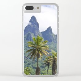 The Land Time Forgot: Marquesas Islands Clear iPhone Case