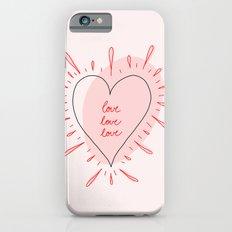 love, love, love iPhone 6s Slim Case