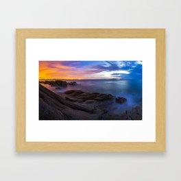 Sunrise at the Forty Foot Framed Art Print