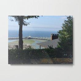 View Of White Rock Beach Metal Print