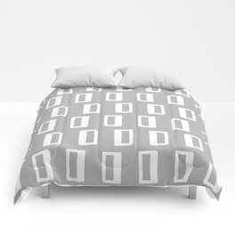 Chad Pattern Grey 22 Comforters