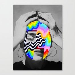 Color Girl Canvas Print