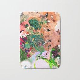 Virtually Surreal Degrees 4D Brick Leaf View No. 2 by Oli Goldsmith Bath Mat