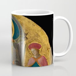 """Fra Filippo Lippi """"Saint Lawrence Enthroned with Saints and Donors"""" Coffee Mug"""
