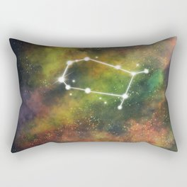 Gemini Star Sign Rectangular Pillow