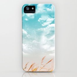 Cloudy side iPhone Case