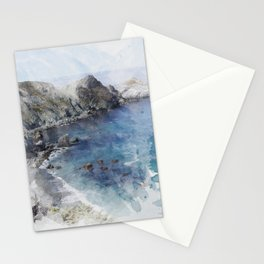 Big Sur Pacific Ocean Print Stationery Cards