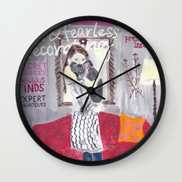 Domino Magazine Premiere Issue- Painting Wall Clock