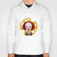 pennywise Hoodies featuring Pennywise Cheese by ajd.abelita