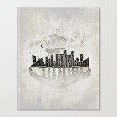Rooftop Killer Canvas Print