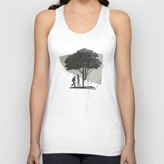 (Down By The) Family Tree | Collage Unisex Tank Top