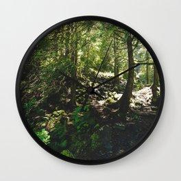 Oregon Forest Wall Clock