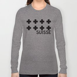 Suisse//One Long Sleeve T-shirt