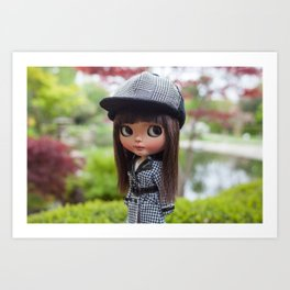 Aya at Kyoto Gardens Art Print