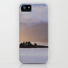 Juneau Alaska Inside Passage Pacific Coast iPhone Case