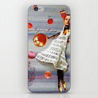 bonjour iPhone & iPod Skins featuring bonjour by Gina Geo