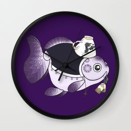 Goldfish Mrs. Hudson Wall Clock