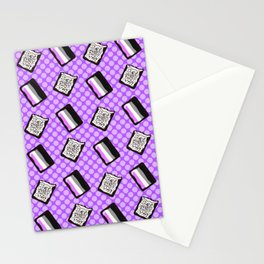 Asexual Pride Tarts Stationery Cards