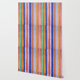 Colorful tinsel Christmas Wallpaper