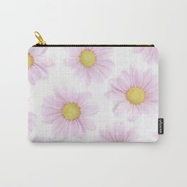 Pinkish Flora Carry-All Pouch