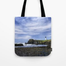 Yaquina Lighthouse Tote Bag
