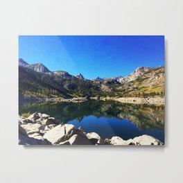 Lake Sabrina Metal Print