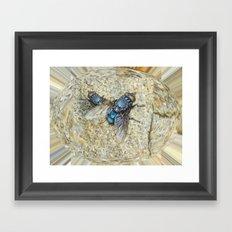 Fly on my Tie Framed Art Print