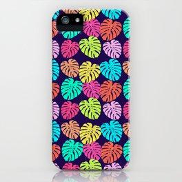 Monstera Deliciosa Print iPhone Case