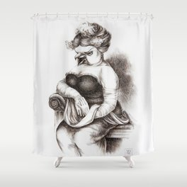 The Opera Singer Shower Curtain